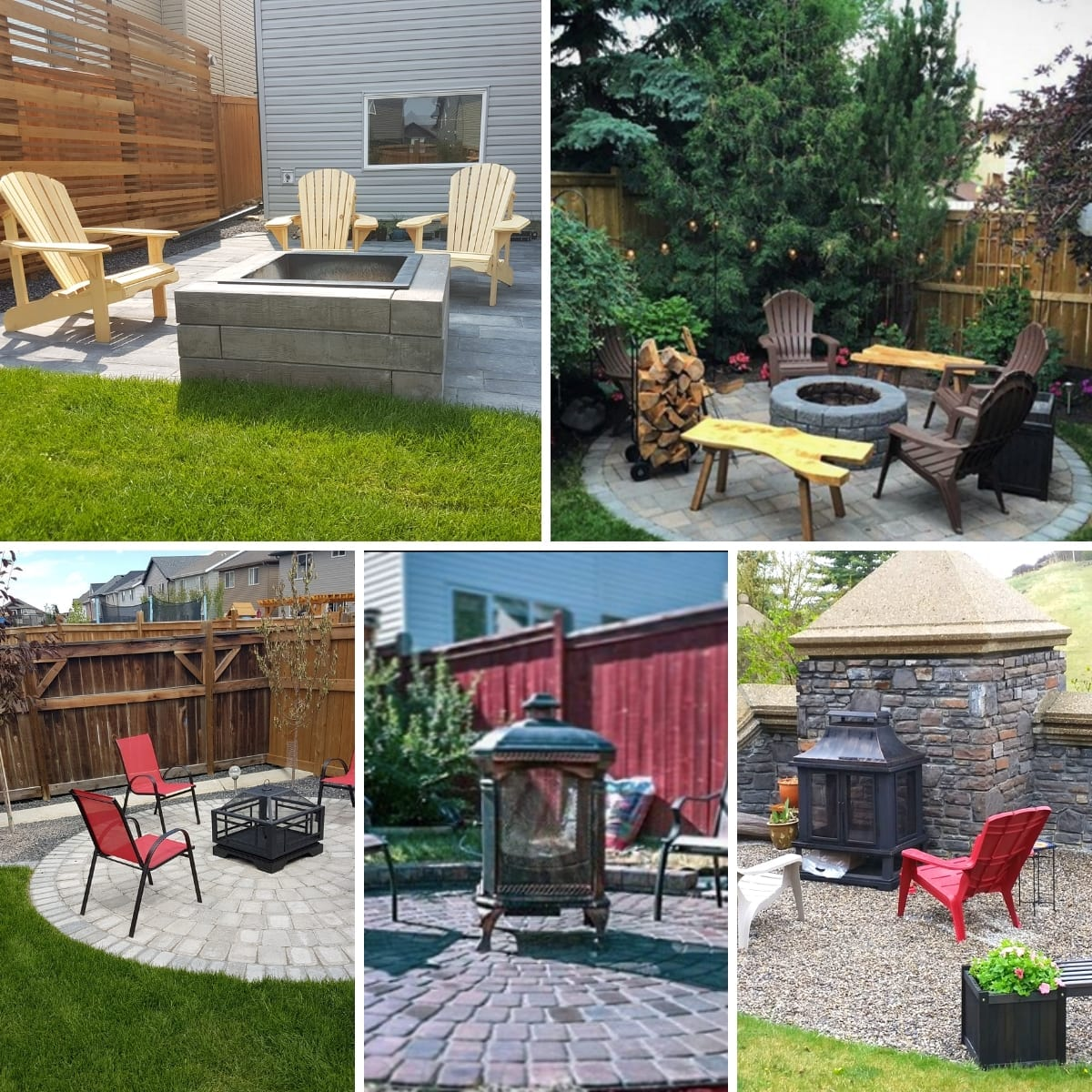 New Look Landscapes - Firepit Areas