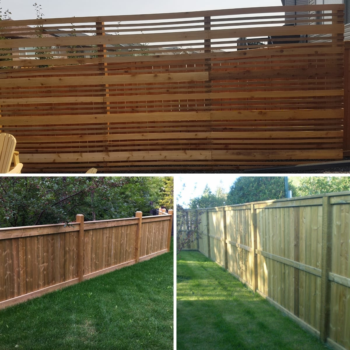 New Look Landscapes - Services - Wooden Fences