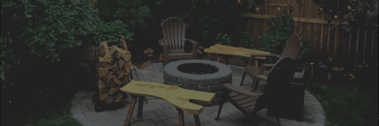 New Look Landscapes - Services: Patios & Firepits